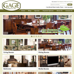 Gage Furniture Web Site Launched!